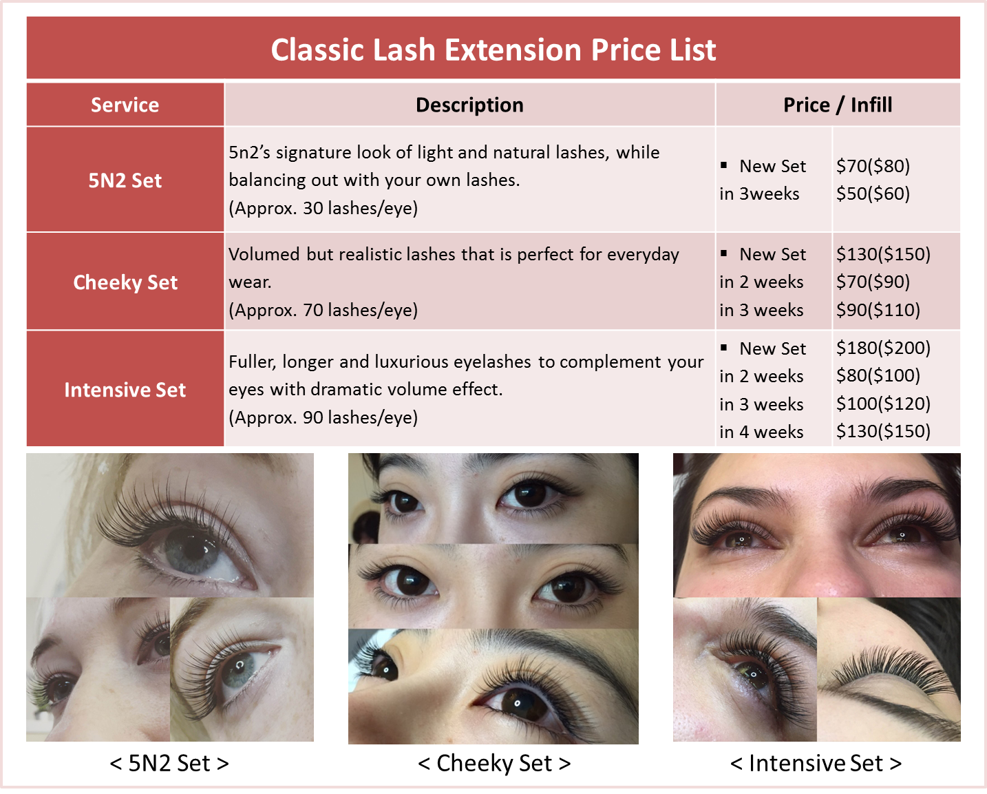 Eye Lash Extension Studio Sydney 5n2 Eyelash 5n2